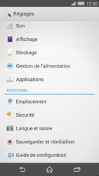 Sony Xperia Z2 - Applications - Supprimer une application - Étape 4