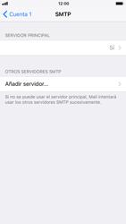 Apple iPhone 6 - iOS 11 - E-mail - Configurar correo electrónico - Paso 21