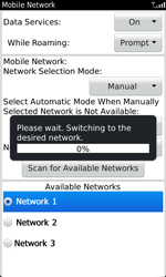 BlackBerry 9860 Torch - Network - Usage across the border - Step 9
