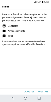 LG Q6 - E-mail - Configurar correo electrónico - Paso 21