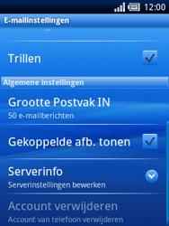 Sony Ericsson Xperia X10 Mini Pro - E-mail - Handmatig instellen - Stap 12