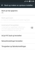 HTC HTC 10 - Toestel - Fabrieksinstellingen terugzetten - Stap 6