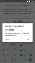 Nokia 5 - Aplicações - Como configurar o WhatsApp -  10