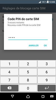 Sony Xperia XA1 Ultra - Sécuriser votre mobile - Personnaliser le code PIN de votre carte SIM - Étape 10