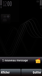 Nokia 5800 Xpress Music - Paramètres - Reçus par SMS - Étape 3