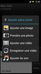 Sony ST26i Xperia J - MMS - envoi d'images - Étape 13