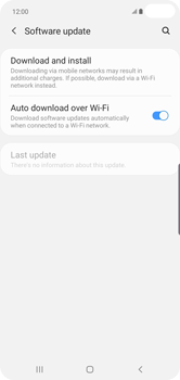 Samsung Galaxy S10 Plus - Device - Software update - Step 6