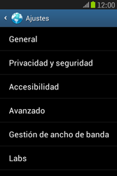 Samsung S6310 Galaxy Young - Internet - Configurar Internet - Paso 22