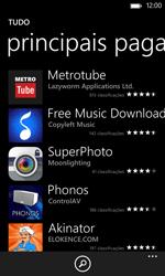 Nokia Lumia 625 - Aplicações - Como pesquisar e instalar aplicações -  9
