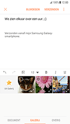 Samsung Galaxy S7 - Android Nougat - E-mail - Hoe te versturen - Stap 12