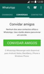 Samsung Galaxy J1 - Aplicações - Como configurar o WhatsApp -  12