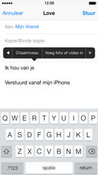 Apple iPhone 5s - E-mail - Hoe te versturen - Stap 10