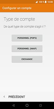 ZTE Blade V9 - E-mail - Configuration manuelle - Étape 13