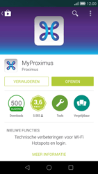 Huawei Ascend G7 - Applicaties - MyProximus - Stap 9