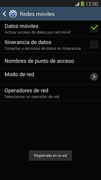 Samsung Galaxy Note 3 - Red - Seleccionar una red - Paso 11