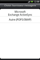 HTC A6262 Hero - E-mail - Configuration manuelle - Étape 4