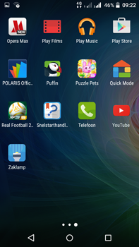 Acer Liquid Z630 - Applicaties - Account instellen - Stap 3