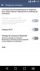 LG LG K8 - Internet et connexion - Partager votre connexion en Wi-Fi - Étape 5
