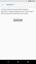 Google Pixel 2 - Funções básicas - Como restaurar as configurações originais do seu aparelho - Etapa 8