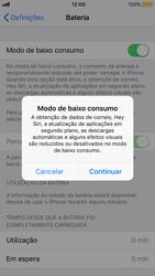 Apple iPhone 8 - Bateria - Modo de poupança -  5