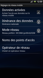 Sony Ericsson Xperia Ray - Internet - configuration manuelle - Étape 7