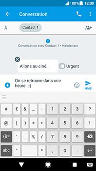 Sony Xperia XA2 Ultra - Contact, Appels, SMS/MMS - Envoyer un MMS - Étape 10