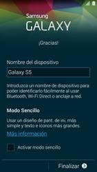 Samsung G900F Galaxy S5 - Primeros pasos - Activar el equipo - Paso 14