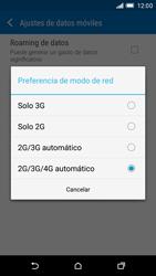HTC One M9 - Red - Seleccionar el tipo de red - Paso 6