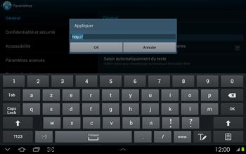 Samsung P5100 Galaxy Tab 2 10-1 - Internet - configuration manuelle - Étape 23