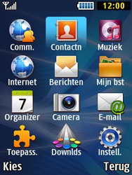 Samsung B2710 Xcover 271 - Contacten en data - Contacten kopiëren van SIM naar toestel - Stap 3