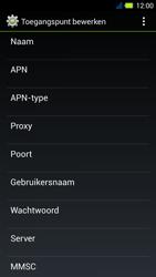 Acer Liquid E3 - Internet - Handmatig instellen - Stap 10