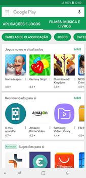 Samsung Galaxy Note 8 - Aplicações - Como pesquisar e instalar aplicações -  4