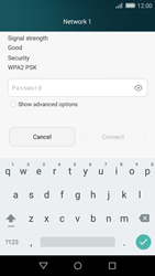 Huawei P8 Lite - WiFi and Bluetooth - Manual configuration - Step 6