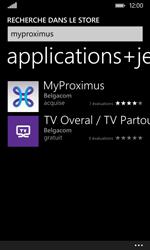 Nokia Lumia 530 - Applications - MyProximus - Étape 7