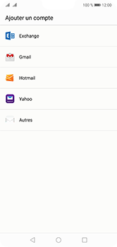 Huawei P20 Lite - E-mail - 032c. Email wizard - Outlook - Étape 4