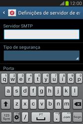 Samsung Galaxy Fame - Email - Configurar a conta de Email -  14