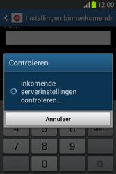 Samsung Galaxy Fame Lite (S6790) - E-mail - Account instellen (POP3 met SMTP-verificatie) - Stap 12
