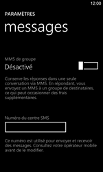 Nokia Lumia 925 - SMS - Configuration manuelle - Étape 6