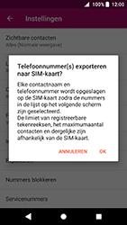 Sony Xperia XA2 (H3113) - Contacten en data - Contacten kopiëren van toestel naar SIM - Stap 8