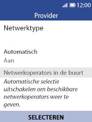 Nokia 8110 - Netwerk selecteren - Handmatig een netwerk selecteren - Stap 7