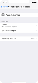 Apple iPhone X - E-mail - Configuration manuelle (yahoo) - Étape 9