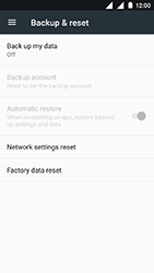 Nokia 3 - Device - Factory reset - Step 4