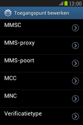 Samsung S6310 Galaxy Young - Mms - Handmatig instellen - Stap 12