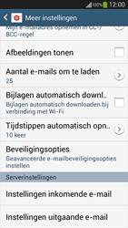 Samsung C105 Galaxy S IV Zoom LTE - E-mail - Instellingen KPNMail controleren - Stap 13