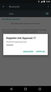 Huawei Google Nexus 6P - Bluetooth - Koppelen met ander apparaat - Stap 7