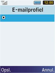 Samsung C3350 Xcover 2 - E-mail - e-mail instellen: POP3 - Stap 7