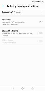 Huawei Mate 10 Lite (Model RNE-L21) - WiFi - Mobiele hotspot instellen - Stap 5