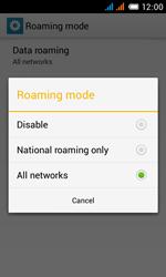 Alcatel OT-4033X Pop C3 - Internet - Usage across the border - Step 9