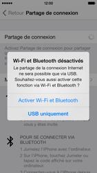 Apple iPhone 5c - Internet et connexion - Partager votre connexion en Wi-Fi - Étape 6