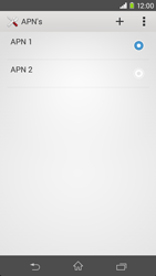 Sony Xperia M2 4G (D2303) - Internet - Handmatig instellen - Stap 15